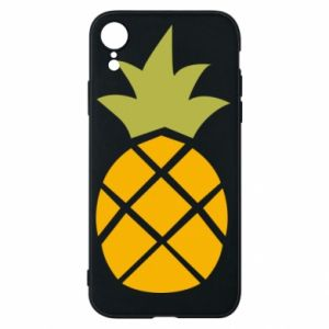 Etui na iPhone XR Bright pineapple