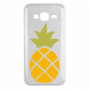 Etui na Samsung J3 2016 Bright pineapple