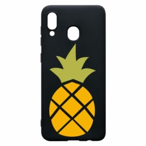 Etui na Samsung A20 Bright pineapple