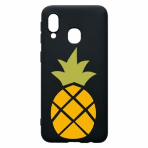 Etui na Samsung A40 Bright pineapple