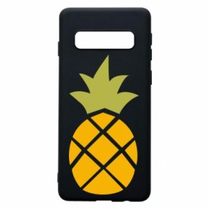 Etui na Samsung S10 Bright pineapple