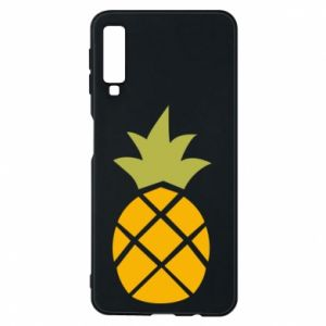Etui na Samsung A7 2018 Bright pineapple