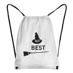 Backpack-bag Broom and hat Best - PrintSalon