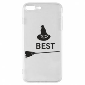 Phone case for iPhone 7 Plus Broom and hat Best - PrintSalon