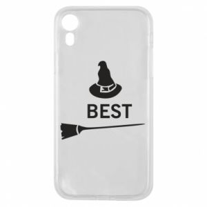 Phone case for iPhone XR Broom and hat Best - PrintSalon