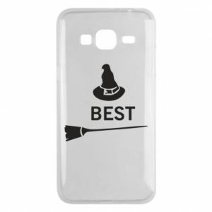 Phone case for Samsung J3 2016 Broom and hat Best - PrintSalon