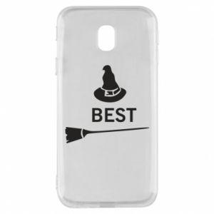 Phone case for Samsung J3 2017 Broom and hat Best - PrintSalon