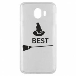 Phone case for Samsung J4 Broom and hat Best - PrintSalon
