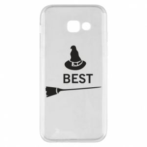 Phone case for Samsung A5 2017 Broom and hat Best - PrintSalon