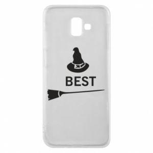 Phone case for Samsung J6 Plus 2018 Broom and hat Best - PrintSalon