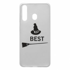 Phone case for Samsung A60 Broom and hat Best - PrintSalon