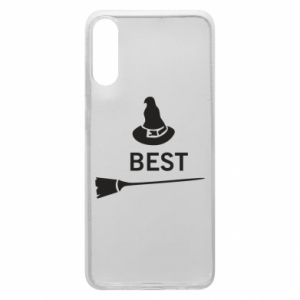 Phone case for Samsung A70 Broom and hat Best - PrintSalon