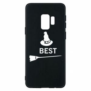 Phone case for Samsung S9 Broom and hat Best - PrintSalon