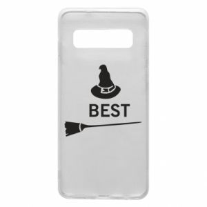 Phone case for Samsung S10 Broom and hat Best