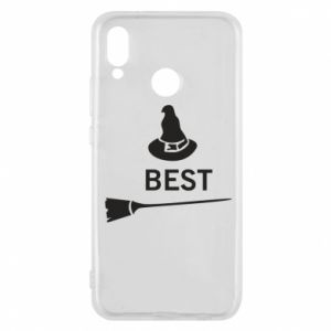 Phone case for Huawei P20 Lite Broom and hat Best - PrintSalon