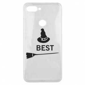 Phone case for Xiaomi Mi8 Lite Broom and hat Best - PrintSalon