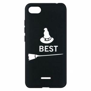 Phone case for Xiaomi Redmi 6A Broom and hat Best - PrintSalon