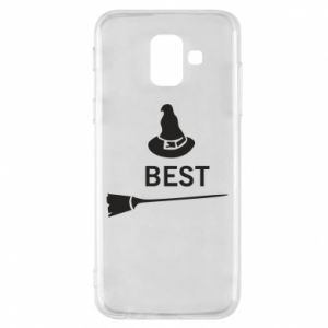 Phone case for Samsung A6 2018 Broom and hat Best - PrintSalon