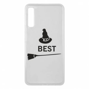 Phone case for Samsung A7 2018 Broom and hat Best - PrintSalon