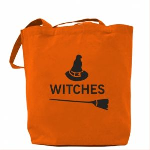 Bag Broom and hat Witches