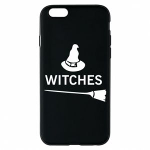 Phone case for iPhone 6/6S Broom and hat Witches