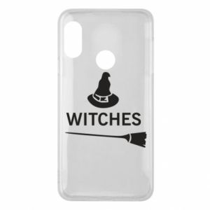Phone case for Mi A2 Lite Broom and hat Witches