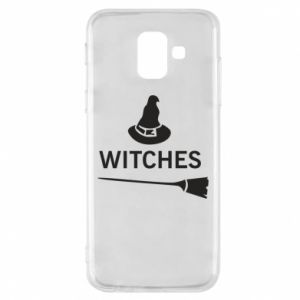 Phone case for Samsung A6 2018 Broom and hat Witches