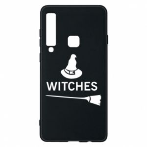Phone case for Samsung A9 2018 Broom and hat Witches - PrintSalon
