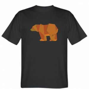 Koszulka Brown bear abstraction