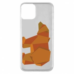 Etui na iPhone 11 Brown bear abstraction