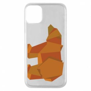Etui na iPhone 11 Pro Brown bear abstraction