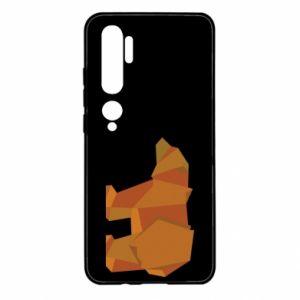 Etui na Xiaomi Mi Note 10 Brown bear abstraction