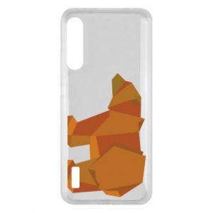 Etui na Xiaomi Mi A3 Brown bear abstraction