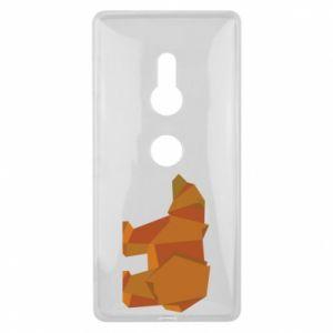 Etui na Sony Xperia XZ2 Brown bear abstraction