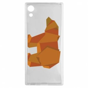 Etui na Sony Xperia XA1 Brown bear abstraction