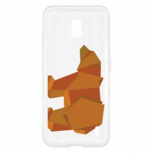 Etui na Nokia 2.2 Brown bear abstraction