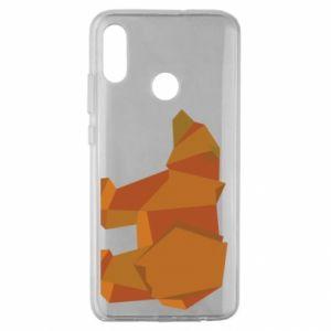 Etui na Huawei Honor 10 Lite Brown bear abstraction