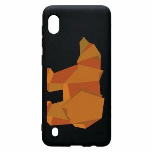 Etui na Samsung A10 Brown bear abstraction
