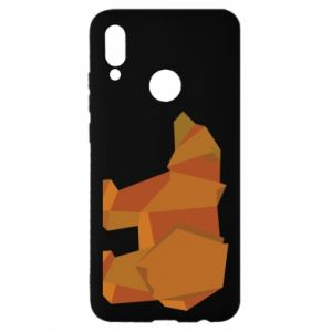 Etui na Huawei P Smart 2019 Brown bear abstraction