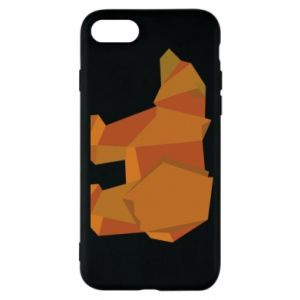 Etui na iPhone SE 2020 Brown bear abstraction