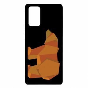 Etui na Samsung Note 20 Brown bear abstraction