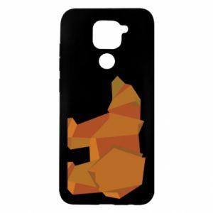 Etui na Xiaomi Redmi Note 9/Redmi 10X Brown bear abstraction