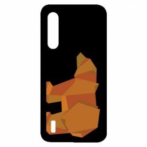 Etui na Xiaomi Mi9 Lite Brown bear abstraction
