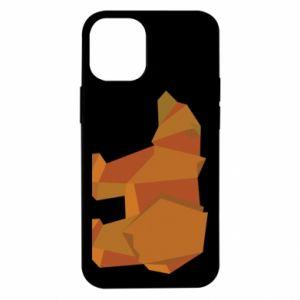 Etui na iPhone 12 Mini Brown bear abstraction