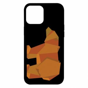 Etui na iPhone 12 Pro Max Brown bear abstraction