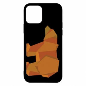 Etui na iPhone 12/12 Pro Brown bear abstraction