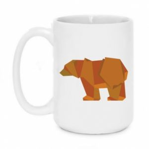 Kubek 450ml Brown bear abstraction
