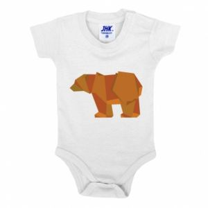 Body dla dzieci Brown bear abstraction
