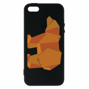 Etui na iPhone 5/5S/SE Brown bear abstraction
