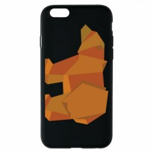 Etui na iPhone 6/6S Brown bear abstraction